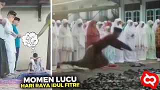Mau Ketawa Takut Dosa.!! Kejadian Lucu Saat Perayaan Idul Fitri yang Terekam Kamera 😆