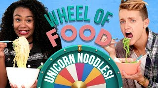 Damon and Jo spin the Wheel of Food and take on a cooking challenge...