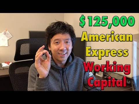 $125,000 FROM AMERICAN EXPRESS WORKING CAPITAL | THEY MUST TRUST ME???!!!!