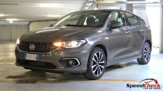 2016 fiat tipo hatchback 5 doors 1.6 multijet ii - full walkaround, start up, engine sound