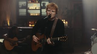 Ed Sheeran - Bad Habits [Official Performance Video]