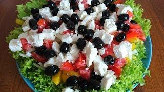 Классический греческий салат: вкусно и просто!