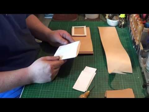 how to make a custom tooled leather wallet my way