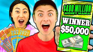 We Bought LOTTERY TICKETS and WON!!