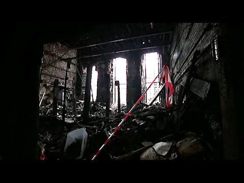 First glimpse inside Glasgow School of Art since major fire | Channel 4 News