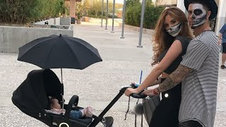 THE ACE FAMILY - ELLE WENT TO BUY A NEW STROLLER FOR HER BABYSISTER*** SO ADORABLE***
