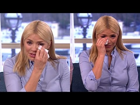 Holly Willoughby breaks down in tears during interview