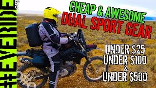 Best Budget Dual Sport Gear for Under $25, $100, and $500! #everide