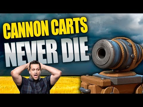 CLASH OF CLANS: CANNON CARTS CAN LIVE FOREVER