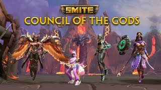 SMITE - Council of the Gods - Available Now! Video, Trailer   Games