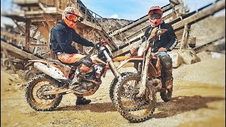 DICKHEADS ARE BACK IN ENDURO ?! 450 & 250 KTM !
