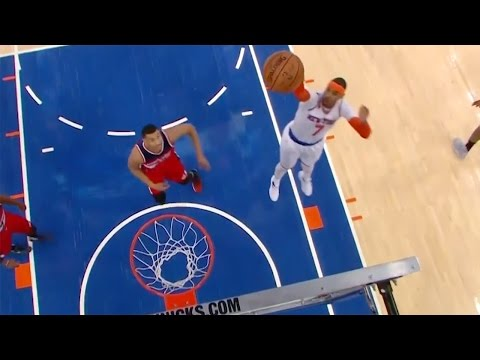 Watch Carmelo Anthony Shoots AIR BALL from TWO Feet Away!