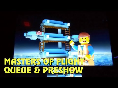 Masters of Flight Queue & Preshow | The LEGO Movie World at Legoland Florida