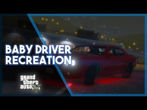 GTA 5 Online | Baby Driver Recreation! (Car Chase & Funny Moments)