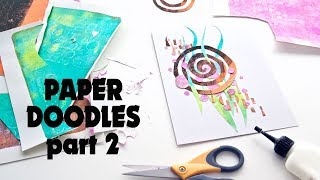 More Paper Doodles And An Online Creator Chat!