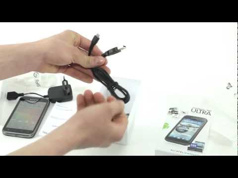 Alcatel One Touch 995 unboxing