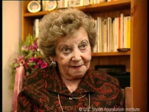 Monologue from Schindler's List - Helen Hirsch (w/Accent ...  Helen Hirsch Horowitz