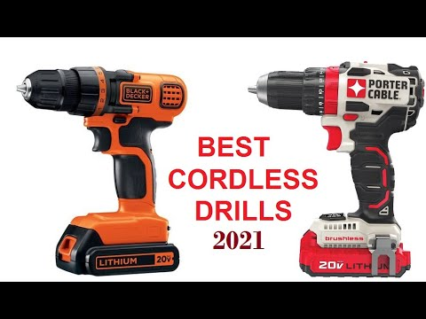 Best Cordless Drills 2021 Best Cordless Drills 2021 ✅✅ The Best Information for Drill