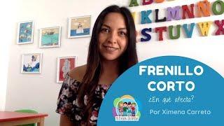 FRENILLO CORTO ¿en qué afecta? l PRONUNCIACIÓN l Mi terapia con Ximena