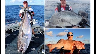Fishing Kenn Reef with Wilson Fishing on Big Cat Reality Charters