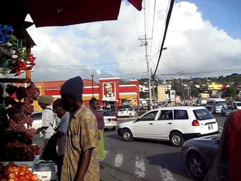 Scarborough downtown, Tobago