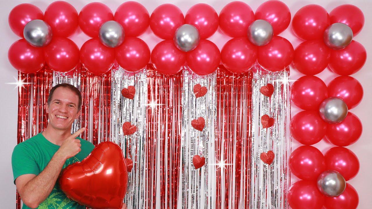DECORACION CUMPLEAÑOS - decoracion con globos para cumpleaños - decoraciones para cumpleaños