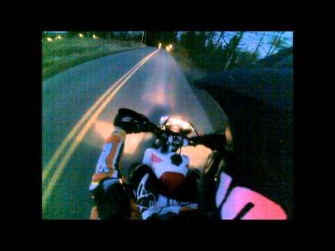 XR650L street riding
