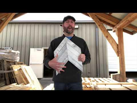 Chevron Wood Wall Diy - How To Make Wood Chevron Arrow Wall Decor
