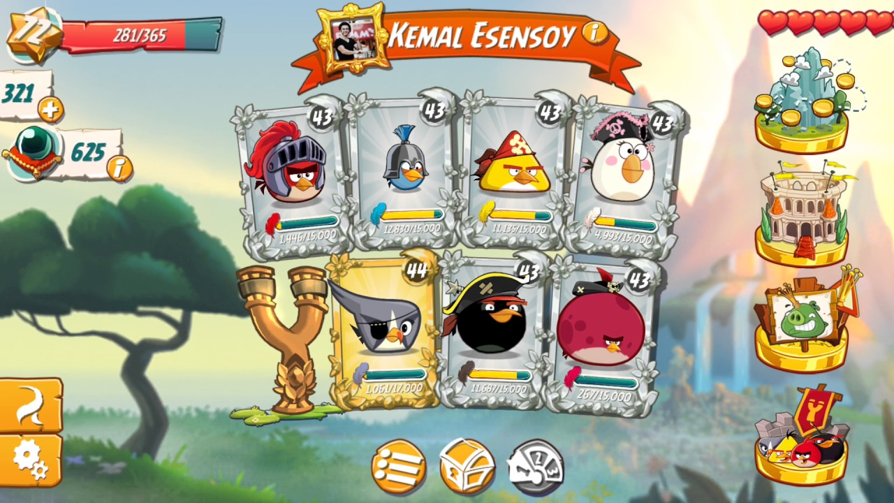 Angry Birds 2 Is Years Old Birthday Hat And Slingshot Upgrade