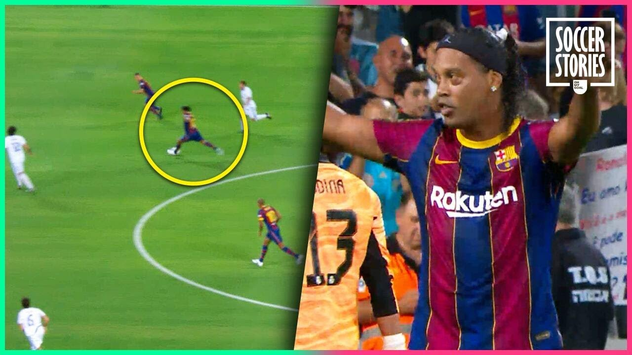 Ronaldinho montre qu'il n'a rien perdu de son talent dans le Clásico des légendes | Oh My Goal