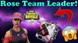 "*NEW* FOUNDER'S SKIN ""ROSE TEAM LEADER"" GAMEPLAY + SHOWCASE 