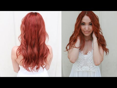 UPDATED RED HAIR ROUTINE THAT WORKS EVERY TIME!