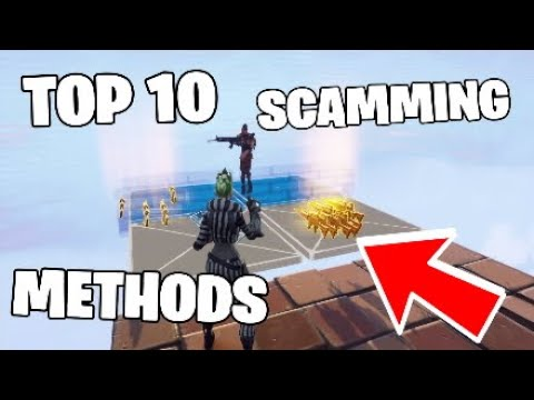 TOP 10 *NEW* SCAM METHODS IN Fortnite Save The World (SCAMMER GETS SCAMMED)