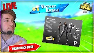 🔴 [ LIVE /PS4 ] I HAVE THE NEW PACK OMBRE 20! (Fortnite / FACECAM)