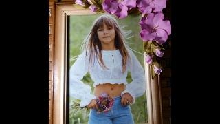Как украсить фоторамку.  How to decorate a photo frame.