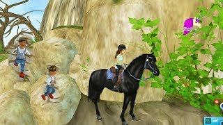 Kids In Forgotten Town? Star Stable Horses Game Let's Play with Honey Hearts Video
