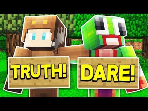 MINECRAFT TRUTH OR DARE... WITH UNSPEAKABLEGAMING, MOOSECRAFT, & 09SHARKBOY!