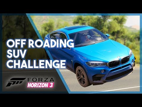 Forza Horizon 3 | Off Roading SUV Challenge (Don't Touch the Asphalt)