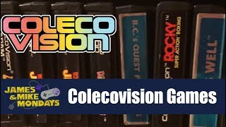 ColecoVision Games (Part 1) Jaṁes & Mike Mondays