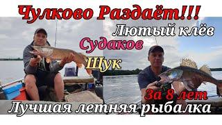 Москва река раздает щук и судаков рыбалка в июле и бешенный клев оторвались по полной