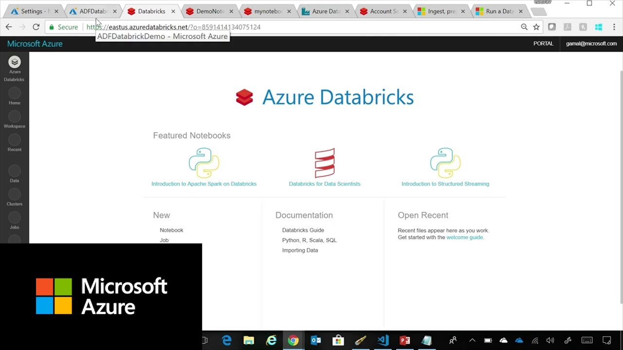 Ingest, prepare & transform using Azure Databricks & Data Factory | Azure  Friday