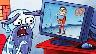 ЗАТРОЛЛИЛ ВСЕ ВИДЕОИГРЫ! Дождался Half-Life 3 и Поймал Пукачу в Игре Troll Face Quest Video Games