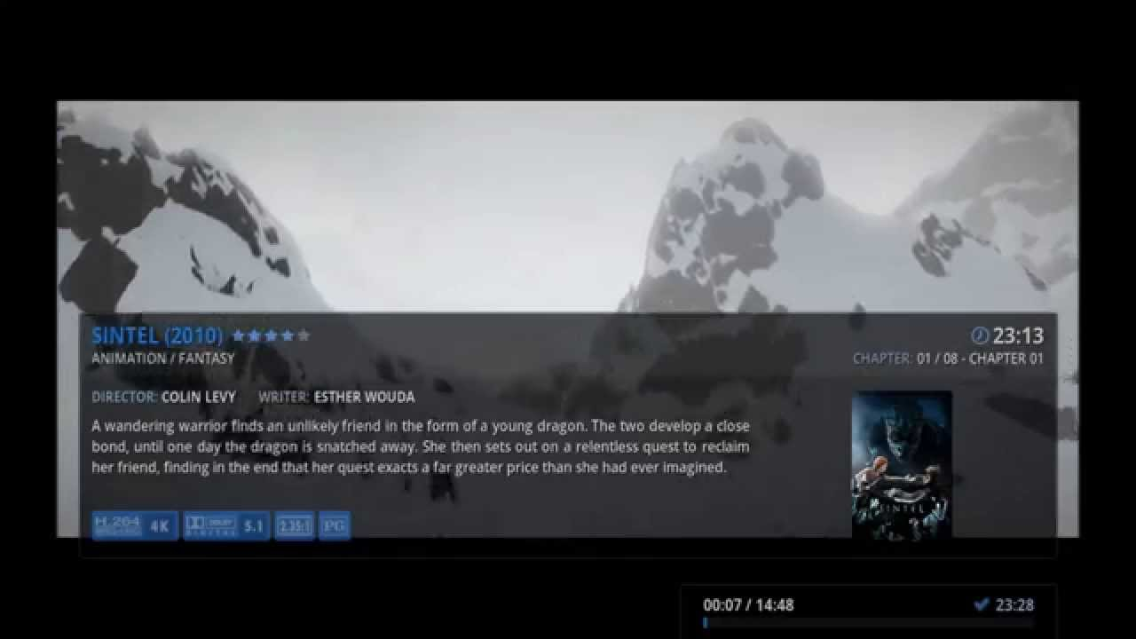 how to watch showcase on kodi