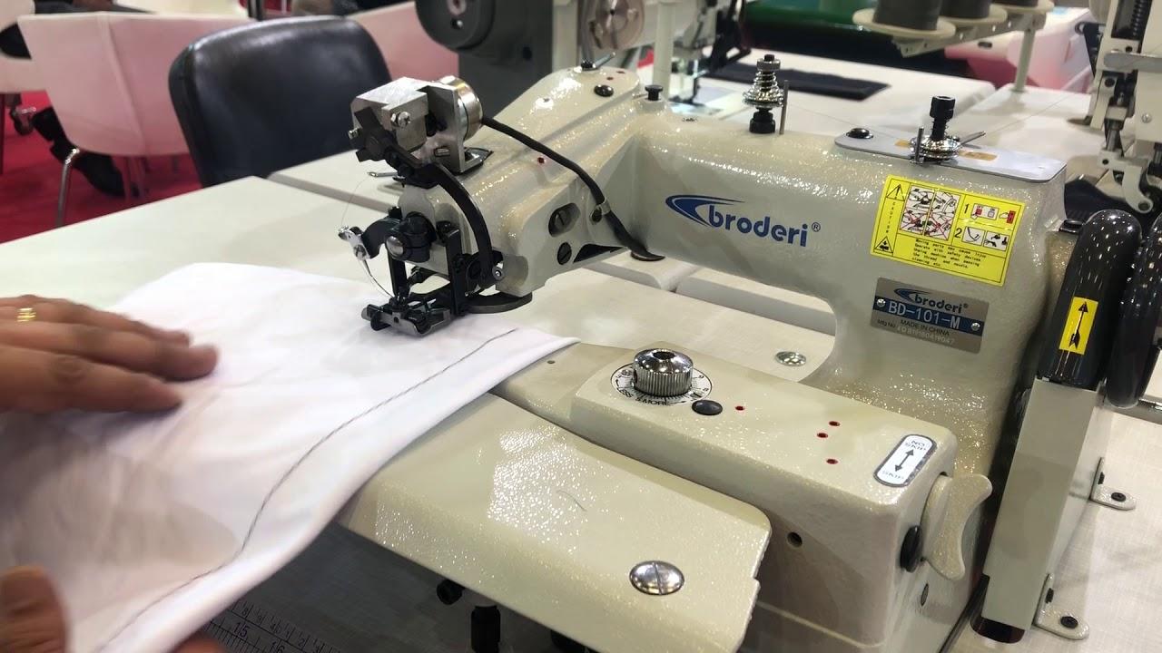 Broderi BD-101-3D İplik Kesicili Etek Baskı Makinası (İntervalli)