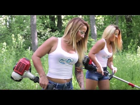 how to put line in a weed wacker