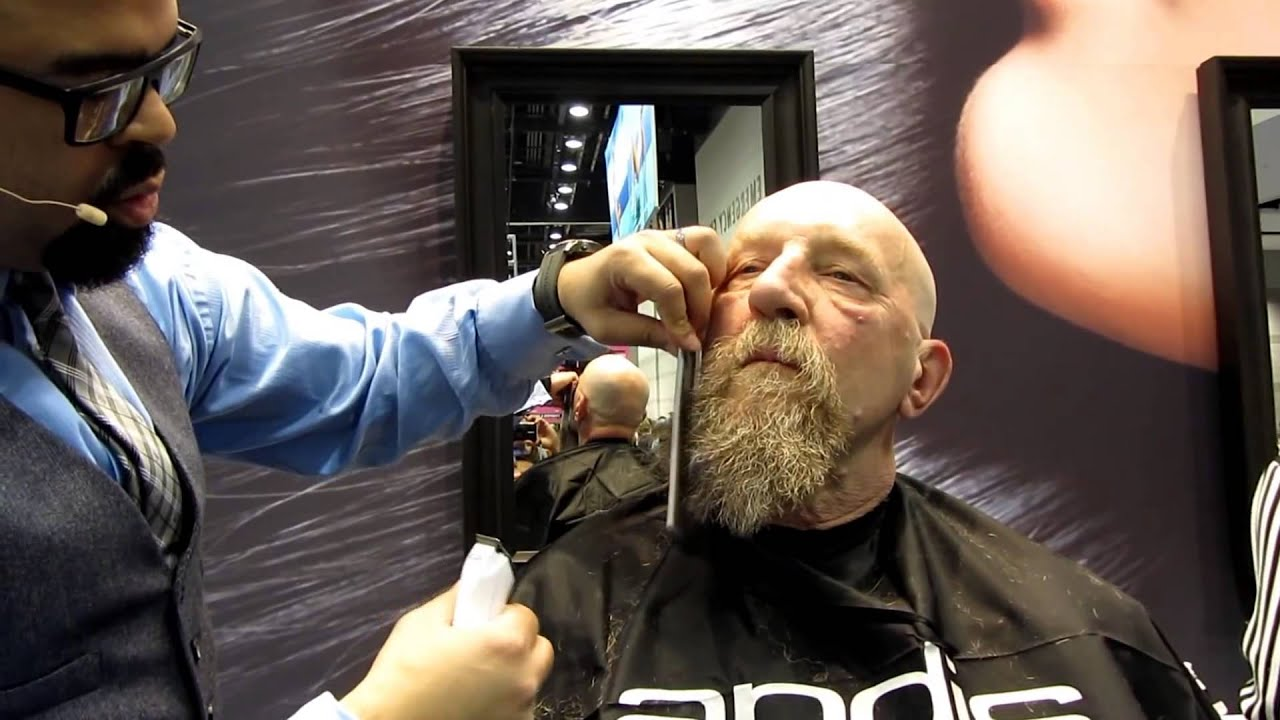 how to use a beard trimmer youtube