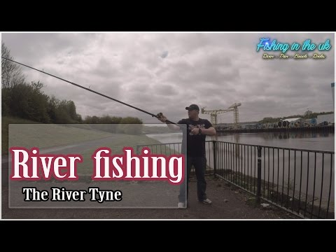The River Tyne. Fishing The Second Car Park.
