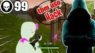 I pretended to use Hack at Fortnite and found a Hacker on my team!!!