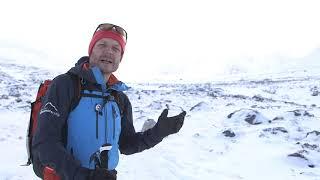 Approaching a Winter Climb 2