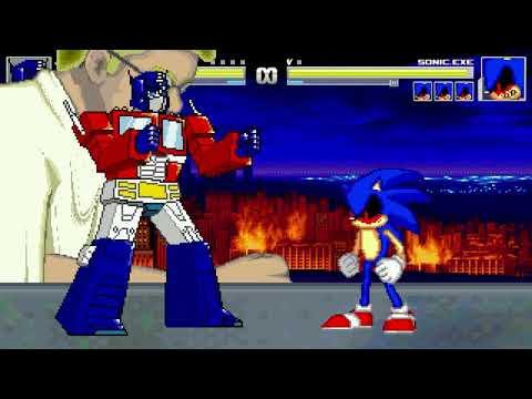 AN Mugen Request #1171: Optimus Prime & Crasher VS Sonic.exe